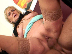 Granny fuck hole filled