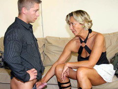 Caught pumping mom in law