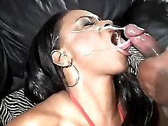 Wild black mature in sex action