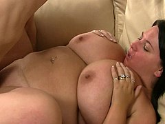 Fat ass bitch fucks hubby